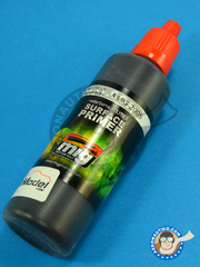 AMMO of Mig Jimenez: Primer - Black Primer - 60 ml - for Airbrush or brush image