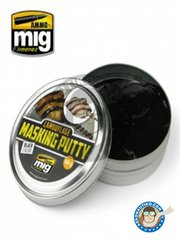 AMMO of Mig Jimenez: Masks - Camouflage masking putty - putty - for all kits