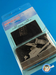 Aires: Cockpit set 1/48 scale - North American P-51 Mustang B/C - photo-etched parts and resin parts - for Tamiya kits