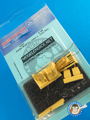 Aires: Gun bay 1/48 scale - Focke-Wulf Fw 190 Würger A-3 - resin parts - for Tamiya kit