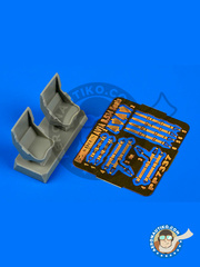 Aires: Seat 1/72 scale - Avia B.534 - resins, photo-etched parts - for Eduard kit image