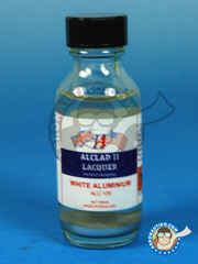Alclad: Paint - White Aluminium  - 30ml bottle - for Airbrush