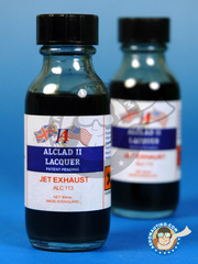 Alclad: Paint - Jet Exhaust  - 30ml bottle - for Airbrush