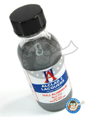 Alclad: Paint - Dull Aluminium  - 30ml bottle - for Airbrush