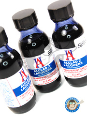 Alclad: Paint - Transparent Smoke - 30ml bottle - for Airbrush
