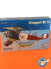 Eduard: Airplane kit 1/48 scale - Nieuport Ni-11 - British Pacific Fleet, Task Force 57, Febraury 1945 (NZ2) - World War I - plastic parts, water slide decals and assembly instructions image
