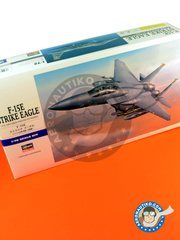 Hasegawa: Airplane kit 1/72 scale - McDonnell Douglas F-15 Eagle E 2001 - plastic model kit image