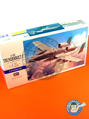 Hasegawa: Airplane kit 1/72 scale - Fairchild-Republic A-10 Thunderbolt II C - (US1) 2011 and 2013 - plastic model kit image
