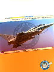 Hasegawa: Airplane kit 1/72 scale - Eurofighter Typhoon EF-2000 Two seater - plastic model kit image