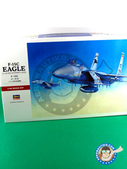 Hasegawa: Airplane kit 1/48 scale - McDonnell Douglas F-15 Eagle C - plastic model kit