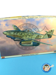 Hasegawa: Airplane kit 1/32 scale - Messerschmitt Me 262 Schwalbe A 1944 and 1945 - plastic model kit image