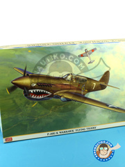 Hasegawa: Airplane kit 1/32 scale - Curtiss P-40 Warhawk E / K 1942 and 1943 - plastic model kit image