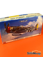 Hasegawa: Airplane kit 1/48 scale - Republic P-47 Thunderbolt D - plastic model kit image