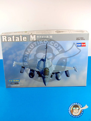 Hobby Boss: Airplane kit 1/72 scale - Dassault Rafale M - plastic model kit image