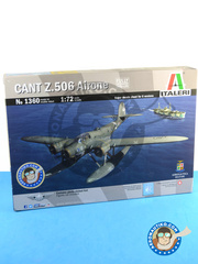 Italeri: Airplane kit 1/72 scale - CANT Z.506 Airone - Italian Co-Belligerent Air Force (IT0); Achmer, early summer 1943. (DE2); RAF (GB0); Regia Aeronautica (IT1) - photo-etched parts, plastic parts, water slide decals and assembly instructions image