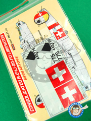 Kora Models: Marking / livery 1/72 scale - Consolidated B-24 Liberator J - water slide decals - for all kits