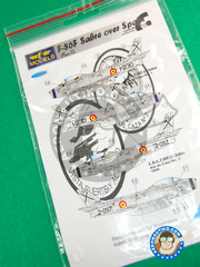 LF Models: Decals 1/48 scale - North American F-86 Sabre F