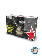 MIG Productions: Crane 1/35 scale - European harbour railway cargo crane - resin parts and assembly instructions