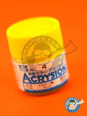Mr Hobby: Acrysion Color paint - Yellow gloss - for all kits