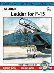 Plusmodel: Ladder 1/48 scale - Ladder for F-15 Eagle - plastic parts and assembly instructions - for all kits
