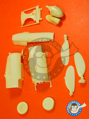 Renaissance Models: Upgrade 1/32 scale - Focke-Wulf Fw 190 Würger D-13 - resins - for Hasegawa kit image