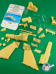 Renaissance Models: Upgrade 1/48 scale - Dassault Mirage F1 CT / CR - resin parts - for Italeri reference ITA78618 image