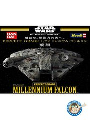 Revell: Spaceship 1/72 scale - Millennium Falcon - photo-etched parts, plastic parts, water slide decals, electronics and assembly instructions