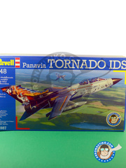 Revell: Airplane kit 1/48 scale - Panavia Tornado IDS - Achmer, early summer 1943. (DE2) - different locations - plastic parts, water slide decals and assembly instructions image