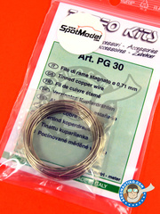 Tameo Kits: Wire - Tinned cooper wire 0,71 mm diameter - for all kits or dioramas