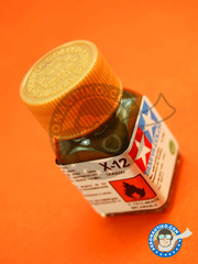 Tamiya: Enamel paint - X-12 - Gold Leaf - 10ml