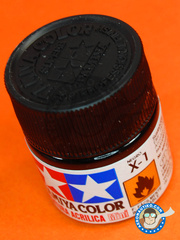 Tamiya: Acrylic paint - Black X-1 - for all kits