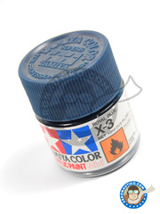 Tamiya: Acrylic paint - Royal blue X-3 - for all kits