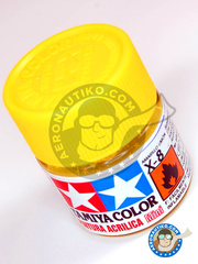 Tamiya: Acrylic paint - Lemon Yellow X-8 - for all kits