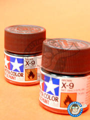 Tamiya: Acrylic paint - Brown X-9 - for all kits