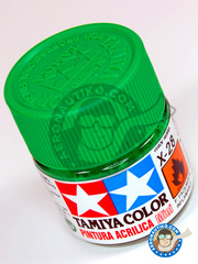 Tamiya: Acrylic paint - Park Green X-28 - for all kits