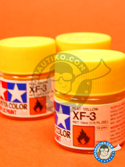 Tamiya: Acrylic paint - Flat yellow XF-3