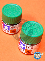 Tamiya: Acrylic paint - Flat Green XF-5 - for all kits