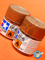 Tamiya: Acrylic paint - Copper XF-6 - for all kits