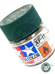 Tamiya: Acrylic paint - J.N Green XF-11 - for all kits