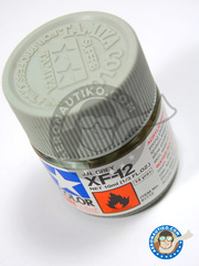 Tamiya: Acrylic paint - J. N. Grey XF-12 - for all kits