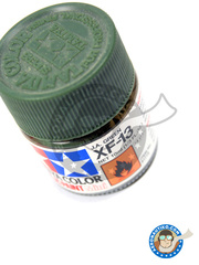 Tamiya: Acrylic paint - J.A. Green XF-13 - for all kits