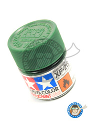 Tamiya: Acrylic paint - Deep green XF-26