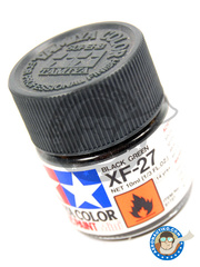 Tamiya: Acrylic paint - Black Green XF-27 - for all kits