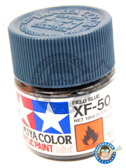Tamiya: Acrylic paint - Field Blue XF-50 - for all kits
