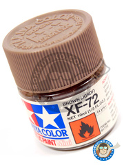 Tamiya: Acrylic paint - Brown JGSDF XF-72 - for all kits