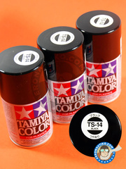 Tamiya: Spray - Gloss Black TS-14 - 100ml - for all kits