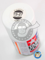 Tamiya: Spray - Matt White TS-27 - 100ml