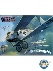 Wingnut Wings: Airplane kit 1/32 scale - Roland C.II -  (DE1) - photo-etched parts, plastic parts, water slide decals and assembly instructions