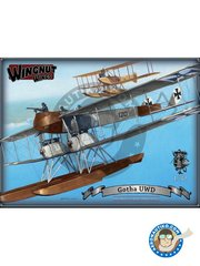 Wingnut Wings: Model kit 1/32 scale - Gotha UWD - March 1916 (DE1) - photo-etched parts, plastic parts and water slide decals