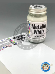 Zero Paints: Paint - Metallic White image